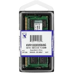 MEMÓRIA 8GB DDR3l 1333MHZ KINGSTON - NOTEBOOK