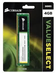 MEMÓRIA 4GB DDR3 1333MHZ CORSAIR VALUE