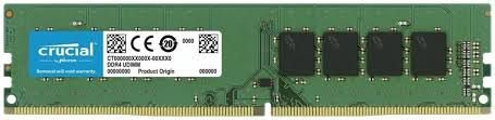 MEMÓRIA 16GB DDR4 2666MHZ CRUCIAL