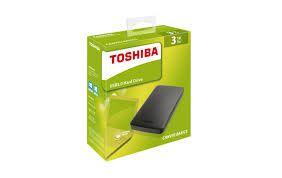 HD EXTERNO TOSHIBA 3TB USB 3.0 - PORTÁTIL