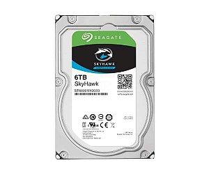 "HD SEAGATE SKYHAWK SURVEILLANCE 6TB SATA 6BB/S 3.5"""