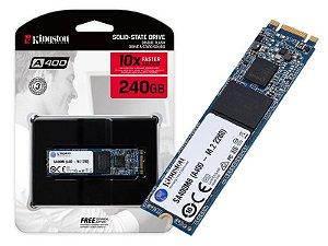SSD KINGSTON A400 240GB M.2, LEITURA 500MB/s, GRAVAÇÃO 350MB/s - SA400M8/240G
