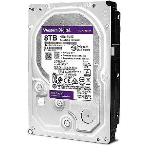 HD WD PURPLE 8TB SURVEILLANCE 3.5´ SATA 6Gb s - WD82PURZ