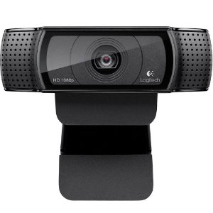 WEBCAM LOGITECH C920 PRO FULL HD 1080P, USB PRETA - 960-000764
