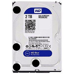 HD WD BLUE 2TB, 3.5´, SATA, CACHE 64MB - WD20EZAZ