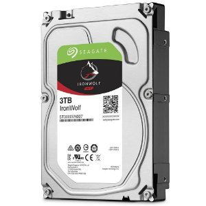 HD SEAGATE IRONWOLF NAS 3TB, 3.5´, SATA - ST3000VN007