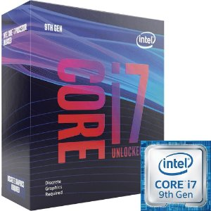 PROCESSADOR INTEL I7 9700KF, 8-CORE, 3.6GHZ (4.9GHZ TURBO), CACHE 12MB, LGA1151 - BX80684I79700KF