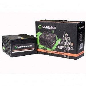 FONTE GAMEMAX GP650, 650W 80 PLUS BRONZE, PFC ATIVO - GP650A1902024