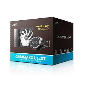 WATER COOLER DEEPCOOL GAMMAXX L120T, 120MM, LED AZUL, AMD/INTEL - DP-H12RF-GL120TB