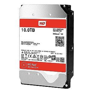 HD WD RED NAS 10TB, 3.5´, SATA 6Gb/s - WD100EFAX