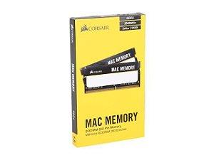 MEMÓRIA CORSAIR MAC MEMORY 16GB (2X8GB) 2666MHz, DDR4 - CMSA16GX4M2A2666C18