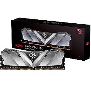 MEMÓRIA ADATA XPG GAMMIX D30 8GB 3200MHz, DDR4, CL16 - AX4U32008G16A-SB30