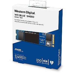 SSD M.2 NVMe 250GB WD Blue WDS250G2B0C 6Gbps 2400MB/s