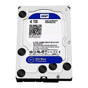 """HD WD BLUE 4TB 3.5"""" SATA III 6GB/S - WD40EZRZ"""