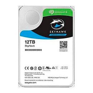 """HD SEAGATE SKYHAWK 12TB 3.5"""" SATA III 6GB/S - ST12000VX0008"""