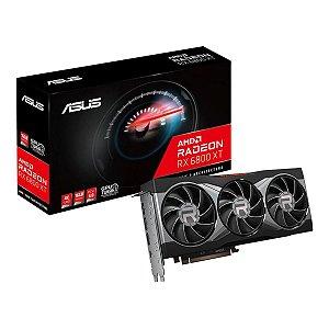 PLACA DE VÍDEO ASUS RADEON RX 6800 XT 16GB, GDDR6. 256 BIT - RX6800XT-16G