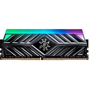 MEMÓRIA XPG SPECTRIX D41, RGB, 8GB, 3000MHZ, DDR4, CL16, CINZA - AX4U30008G16A-ST41