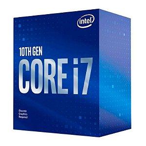 PROCESSADOR INTEL CORE I7-10700F OCTA-CORE 2.9GHZ (4.8GHZ TURBO) 16MB CACHE LGA1200 - BX8070110700F