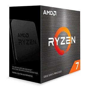 PROCESSADOR AMD RYZEN 7 5800X OCTA-CORE 3.8GHZ (4.7GHZ TURBO) 36MB CACHE AM4 - 100-100000063WOF