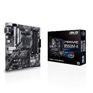 PLACA MAE ASUS PRIME B550M-A DDR4 SOCKET AM4 CHIPSET AMD B550