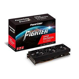 PLACA DE VÍDEO POWER COLOR RADEON RX 6800 FIGHTER 16GB GDDR6 PCI 4.0 – AXRX 6800 16GBD6-3DH/OC