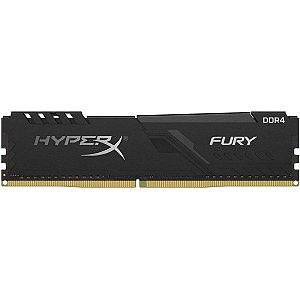 MEMÓRIA DDR4 KINGSTON HYPERX FURY, 8GB 3600MHZ, BLACK - HX436C17FB3/8