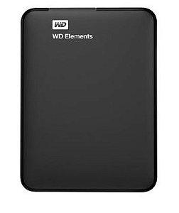 HD WD EXTERNO PORTÁTIL ELEMENTS USB 3.0 1TB - WDBUZG0010BBK-EB