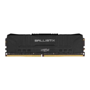 MEMORIA CRUCIAL BALLISTIX 8GB (1X8) DDR4 3000MHZ PRETA - BL8G30C15U4B