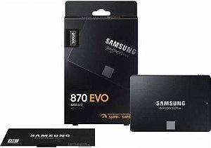 """SSD  SAMSUNG 870 EVO 2,5 """"SATA 500GB - MZ-77E500"""