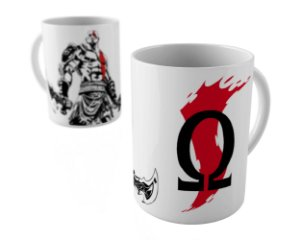 Caneca - God Of War Kratos