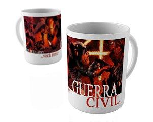 Caneca -  Vingadores Guerra Civil
