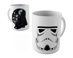 Caneca - Stormtrooper & Darth vader