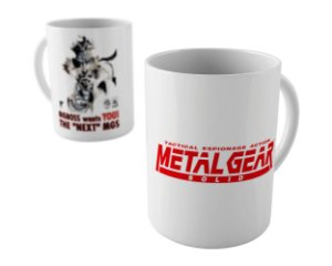 Caneca - Metal Gear Solid