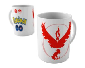 Caneca - Pokémon Go Time Valor