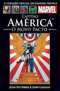 Capitão América O Novo Pacto - Salvat Ed.27