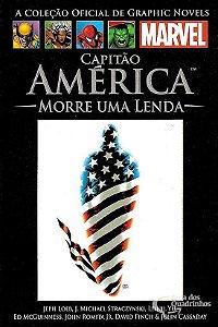 Capitão América Morre Uma Lenda - Salvat Ed.51