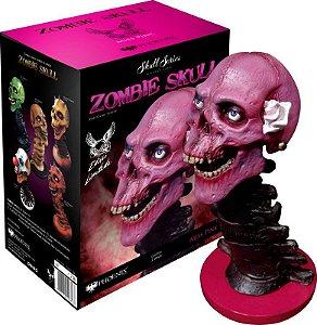 Estátua Zombie Skull Ms Pink: Art Scale Edição Limitada Escala 1/3