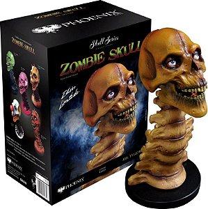 Estátua Zombie Skull Mr Yellow: Art Scale Edição Limitada Escala 1/3