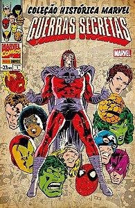 Coleção Histórica Marvel - Guerras Secretas - Completo