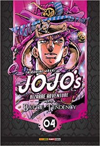 Jojo'S Bizarre Adventure Parte 2 Battle Tendency Vol.04
