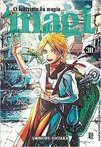 Magi O Labirinto Da Magia Vol.30