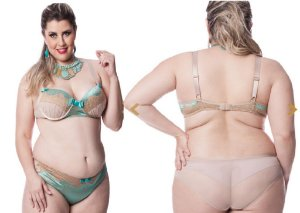 Conjunto Dama Luxo de Brilho - Ref. 132605