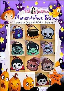 APOSTILA MONSTRINHOS BABY - BOLSAS