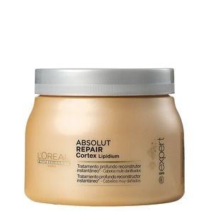 L'Oréal Professionnel Absolut Repair Cortex Lipidium Instant Reconstructing Masque - Máscara 500ml