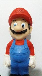 Boneco Mario Bros em Resina 14cm