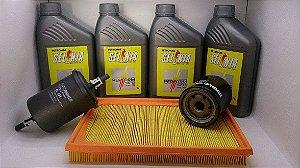 Vw Gol G4 Fox 1.0 Flex Óleo 5w40 100% Sintetico + Filtros