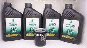 Kit Troca De Óleo De Motor E Filtro Honda Sae 10w30 Mineral