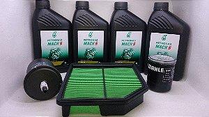 Honda New Civic Kit 10w30 Mineral Filtros Ar Óleo Combustivel