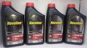 Óleo Havoline 20w50 SL Superior Kit 4 Litros