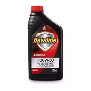 Óleo Havoline 20w50 SL Superior Kit 5 Litros